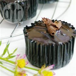 Makkelijke chocoladecakejes recept