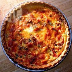 Tomaten-basilicumquiche recept