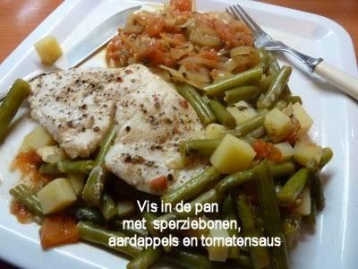 Vis in de pan (een grieks recept  psari plaki) recept