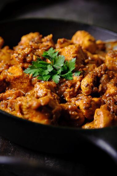 Recept 'indiase kip met garam masala en yoghurt'