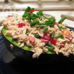 Tonijn met avocado recept