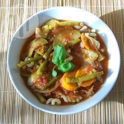 Jamie's minestrone soep recept