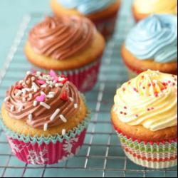 Vanille en chocolade cupcakes recept