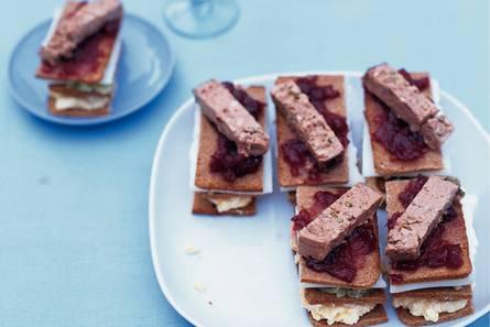 Deense sandwiches