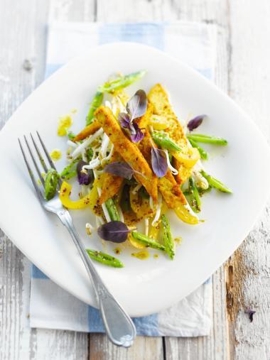 Recept 'groentepalet met quorn'