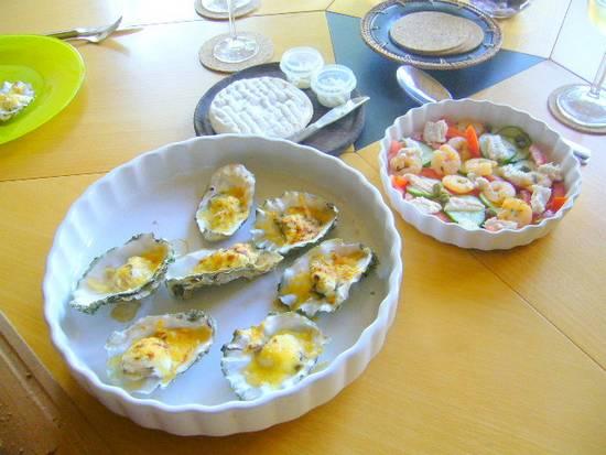 Oesters of st. jaboksschelpen-gegratineerd- recept