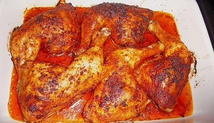 Krakend krokante malse kippenpoten recept