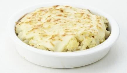 Ovenschotel met bloemkool, aardappel en gehakt recept ...