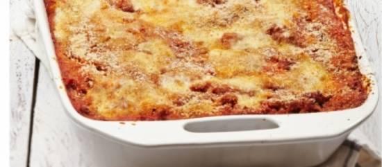 Lasagne met kip, pesto en courgette recept