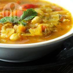 Vegetarische marokkaanse harira recept
