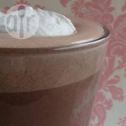 Geklopte warme chocolademelk recept