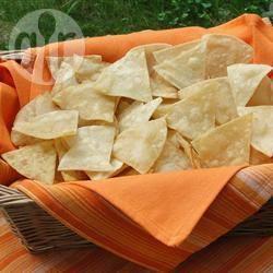 Zelfgemaakte tortillachips recept