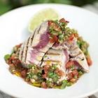 Gegrilde tonijn met salsa van tomaten en koriander recept ...