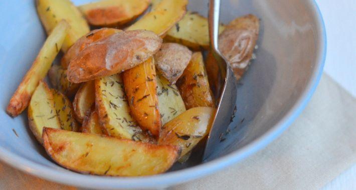 Aardappeltjes uit de oven met rozemarijn