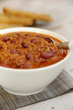 Recept 'chili con carne'