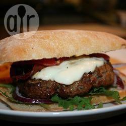 Italiaanse hamburger recept