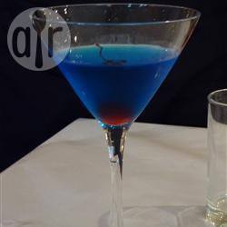 Blue sky martini recept