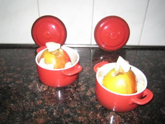 Gevulde appels met stroopwafel en mascarpone recept