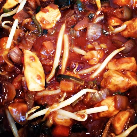 Spicy chicken recept