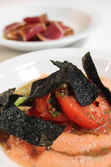 Recept 'tataki van tonijn met tomatensalsa'