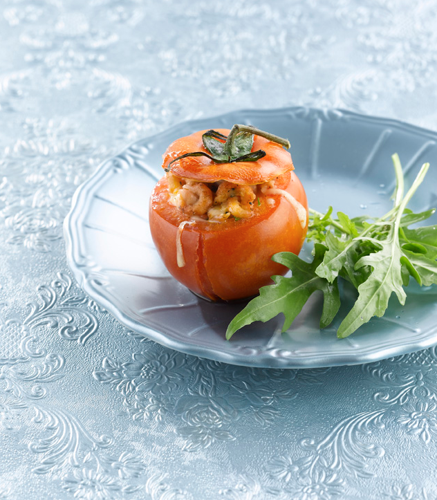 Recept 'tomaat garnaal uit de oven'