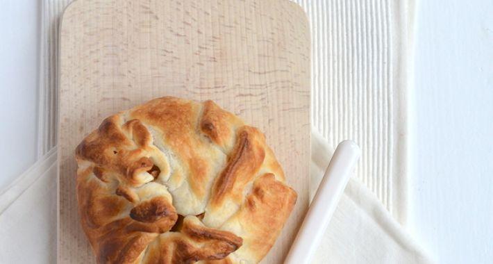 Camembert in bladerdeeg uit de oven