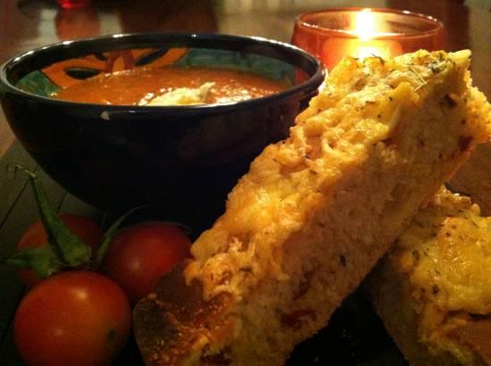 Kruidig italiaans tomatenbrood recept