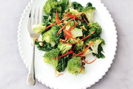 Broccoli met spinazie