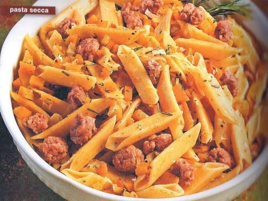 Pasta (trofe) met kalfgehaktalletjes:trofie con polpettine recept ...
