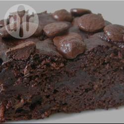 Glutenvrije dubbele chocolade brownies recept