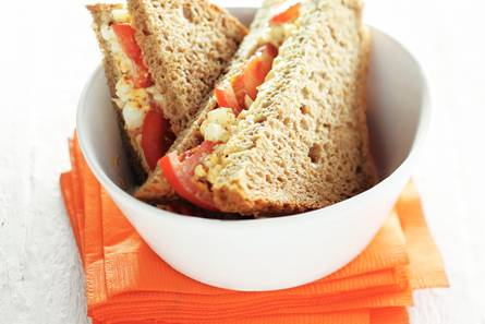 Sandwich eiersalade