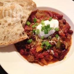 Chili con carne uit de slowcooker recept