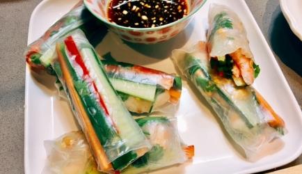 Verse vietnamese loempia's recept
