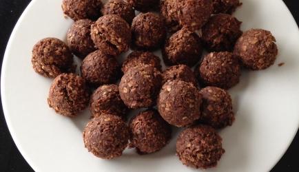 Chocolade haverbollen recept