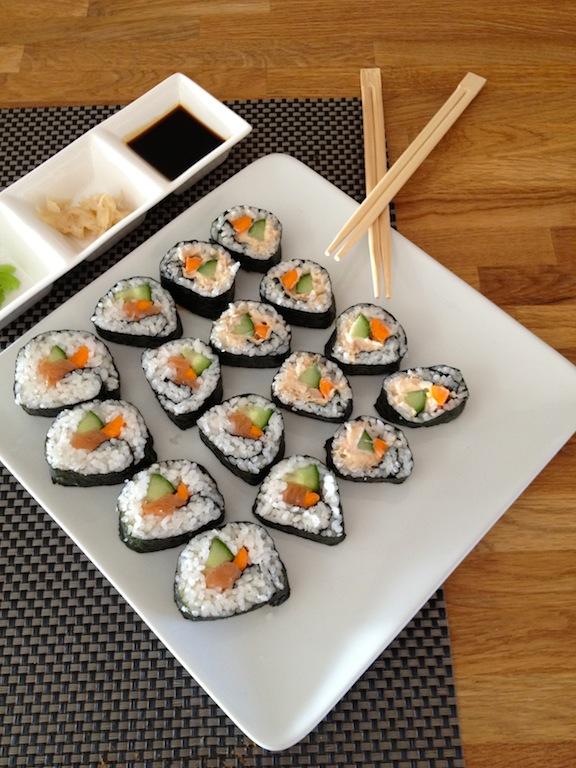 Zelf sushi maken met saitaku