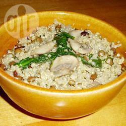 Quinoa pilaf met snijbiet recept