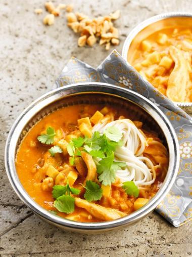 Recept 'curry met een frisse toets'