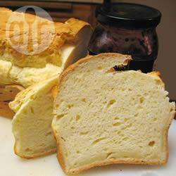 Glutenvrij witbrood voor de broodmachine recept