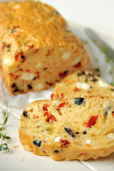 Recept 'hartige kerstcake'