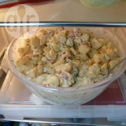 Zomerse maaltijdsalade met ei recept