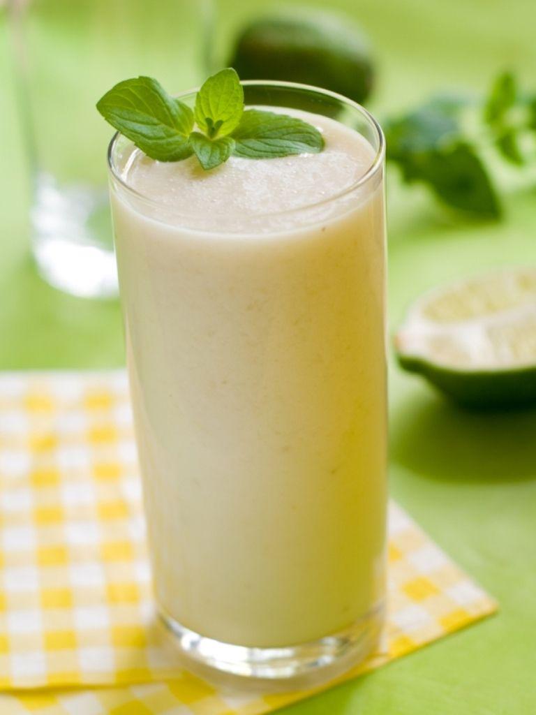 Recept 'milkshake van geroosterde bananen'