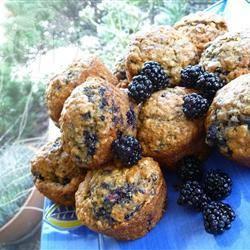 Makkelijke bramenmuffins recept