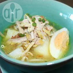 Singaporese kippensoep (singapore soto ayam) recept