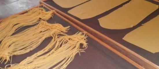 Spaghetti met gamba`s en rucola recept