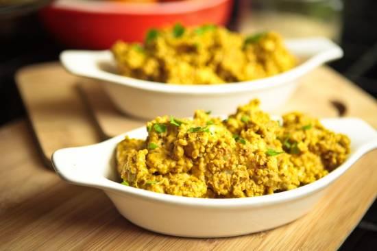 Vegetarische bloemkool curry recept