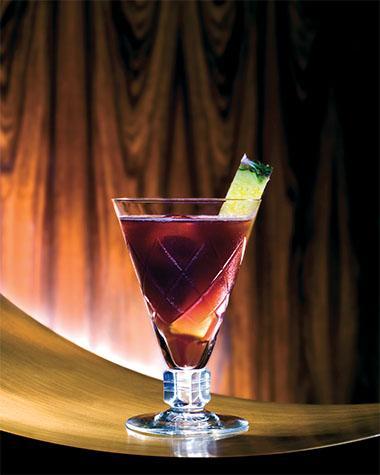 Recept 'the paramaribo park club gin sling'