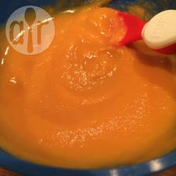 Zelfgemaakte babyvoeding: zoete aardappel recept
