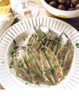 Tapa: boquerones en vinagre (ansjovis in azijn) recept