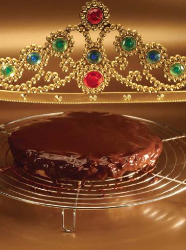 Recept 'chocolade tarte tatin'