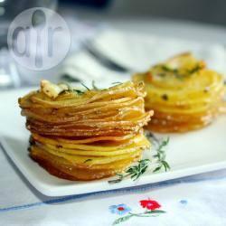 Aardappel stapeltjes recept